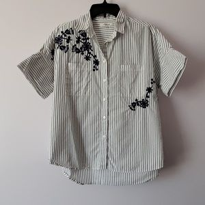 Madewell Embroidered Courier Small